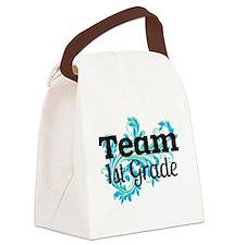 Team First Grade Canvas Lunch Bag