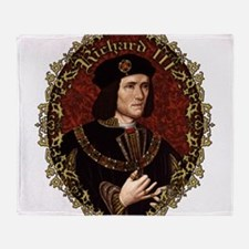Richard III Throw Blanket