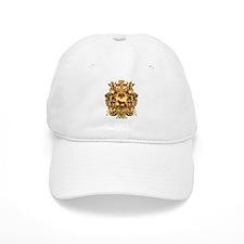 Ornate Borgia Coat Of Arms Baseball Cap