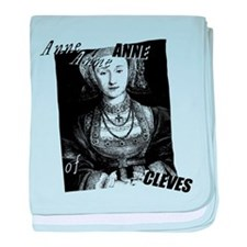 Anne Of Cleves Graphic baby blanket