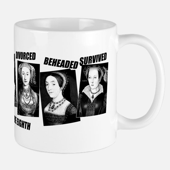 Henry VIII Wives Divorced Beheaded Mug