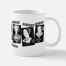 Henry VIII Wives Divorced Beheaded Small Small Mug