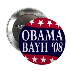 Obama-Bayh 08 Button