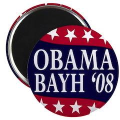 Obama-Bayh 08 Magnet