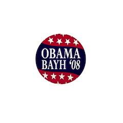 Obama-Bayh 08 Mini Button
