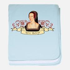 Anne Boleyn baby blanket
