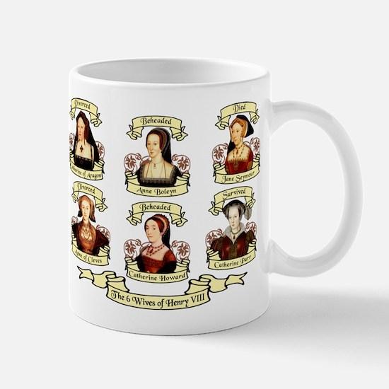 Fates Of Henry VIII Wives Mug
