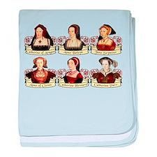 Six Wives Of Henry VIII baby blanket