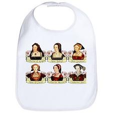Six Wives Of Henry VIII Bib