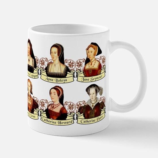 Six Wives Of Henry VIII Mug