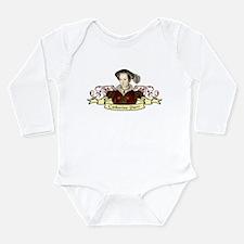Catherine Parr Long Sleeve Infant Bodysuit