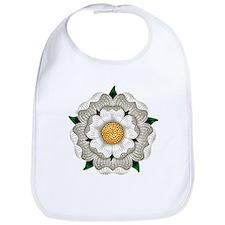 White Rose Of York Bib