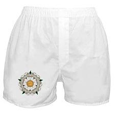 White Rose Of York Boxer Shorts