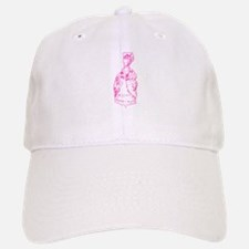 Dancing Marie Antoinette Pink Baseball Baseball Cap