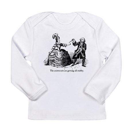 Aristocrats Getting Stabby Long Sleeve Infant T-Sh