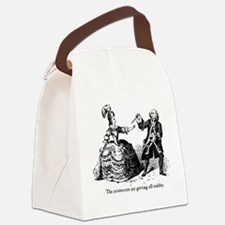 Aristocrats Getting Stabby Canvas Lunch Bag
