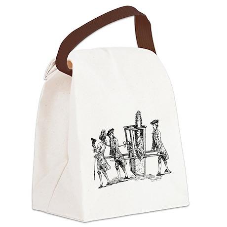 Wig Ride Canvas Lunch Bag