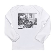 Playing The Harpsichord Long Sleeve Infant T-Shirt