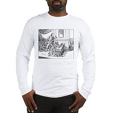 Playing The Harpsichord Long Sleeve T-Shirt