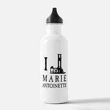 I Love (Guillotine) Marie Antoinette Water Bottle