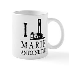 I Love (Guillotine) Marie Antoinette Mug