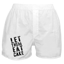 Let Them Eat Cake Boxer Shorts