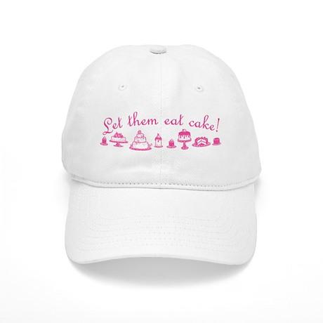 Sweet Pink Let Them Eat Cake Cap