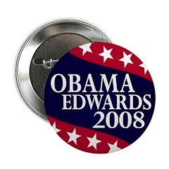 Obama-Edwards 2008 Button