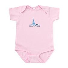 Fort Myers - Sailing Design. Infant Bodysuit