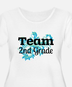 Team 2nd Grade Plus Size T-Shirt