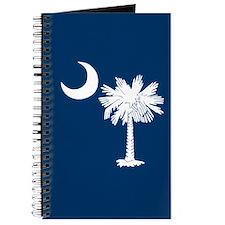 Blue South Carolina Flag Journal