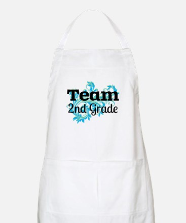 Team 2nd Grade Apron