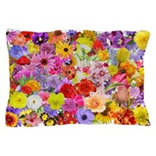 Eileen's Multifloral Pillow Case