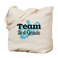 Team 3rd Grade Tote Bag