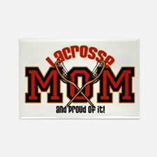 Lacrosse Mom Rectangle Magnet