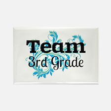 Team 3rd Grade Rectangle Magnet (10 pack)