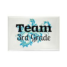 Team 3rd Grade Rectangle Magnet