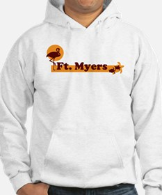 Fort Myers - Beach Design. Hoodie