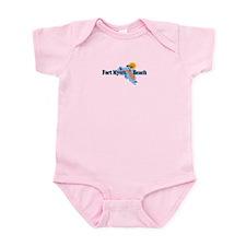 Fort Myers - Map Design. Infant Bodysuit
