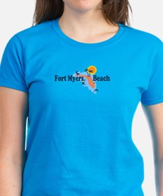 Fort Myers - Map Design. Tee