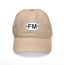 Fort Myers - Oval Design. Baseball Cap