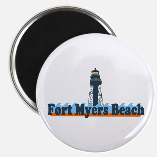 Fort Myers - Lighthouse Design. Magnet
