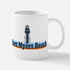 Fort Myers - Lighthouse Design. Mug
