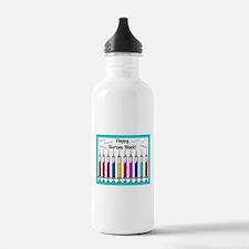 Happy Nurses week syringes Water Bottle