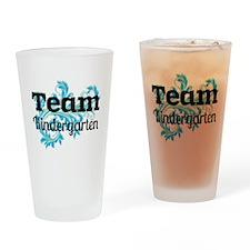 Team Kindergarten Drinking Glass