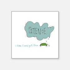 Patient Turtle Sticker