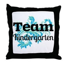 Team Kindergarten Throw Pillow