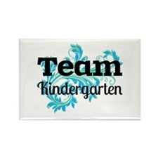 Team Kindergarten Rectangle Magnet