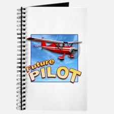 Red Small Plane, Future Pilot Journal