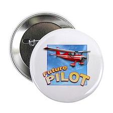 Red Small Plane, Future Pilot Button
